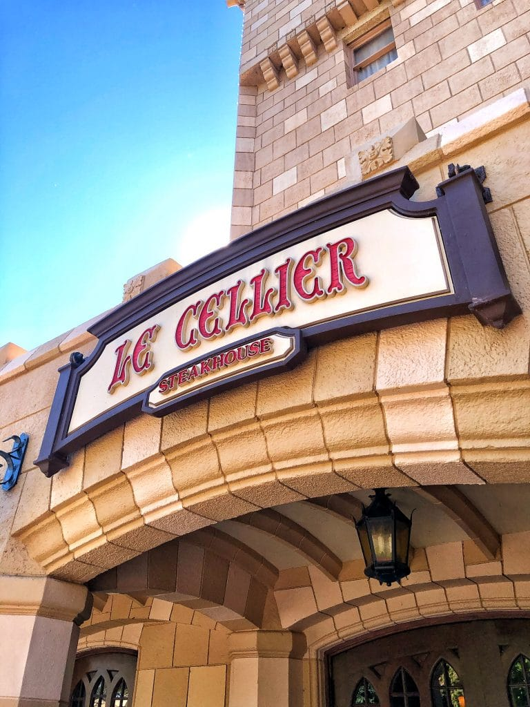 Vegan at Le Cellier Steakhouse in Epcot at Walt Disney World