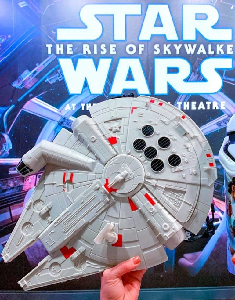 Star Wars Millennium Falcon Premium Bucket at Galactic Grill in Disneyland