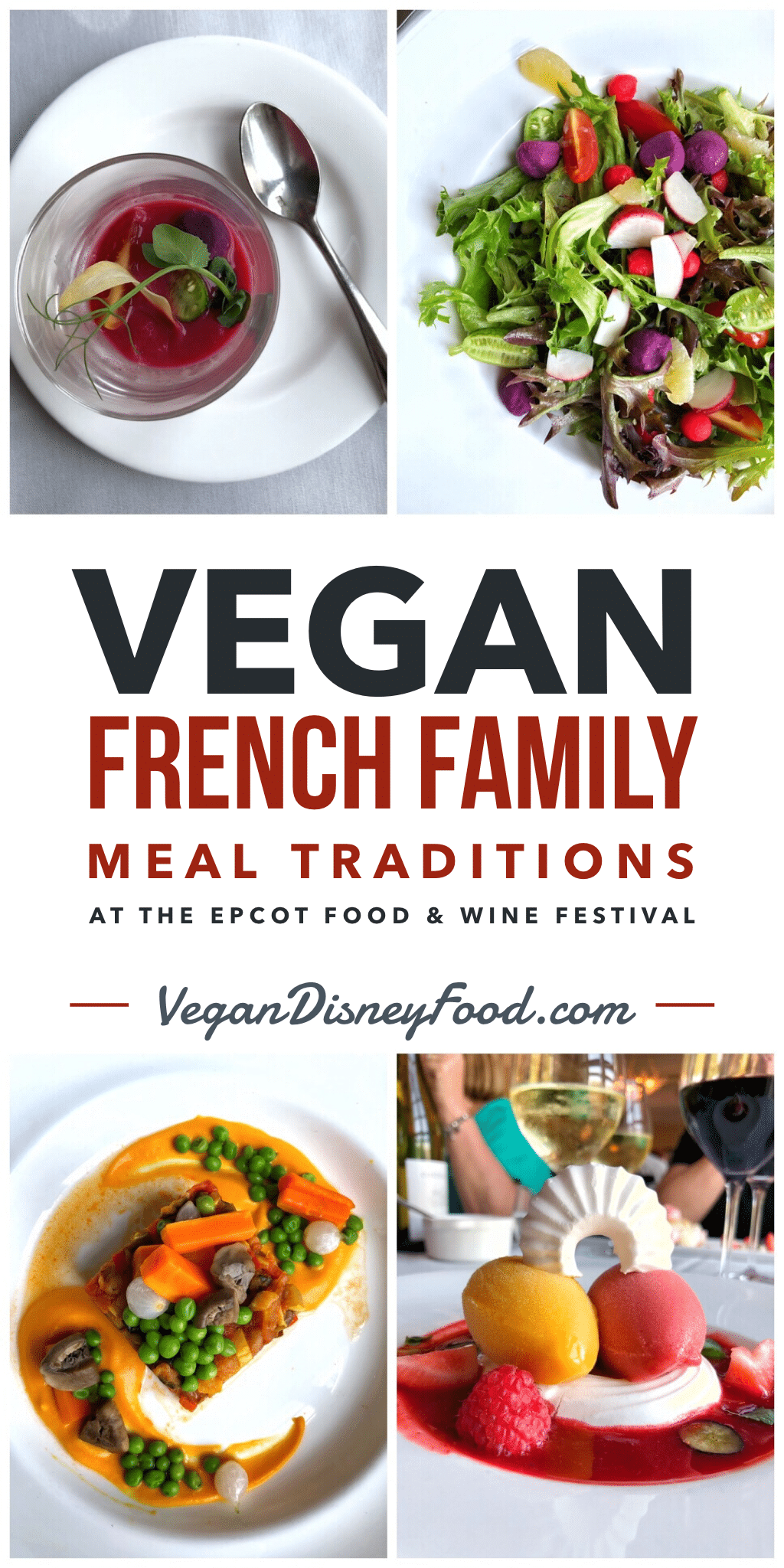 Epcot International Food and Wine Festival French Family Meal Traditions Vegan Review
