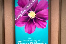 CONFIRMED! All Vegan Booth Returns to 2020 Epcot Flower & Garden Festival at Walt Disney World