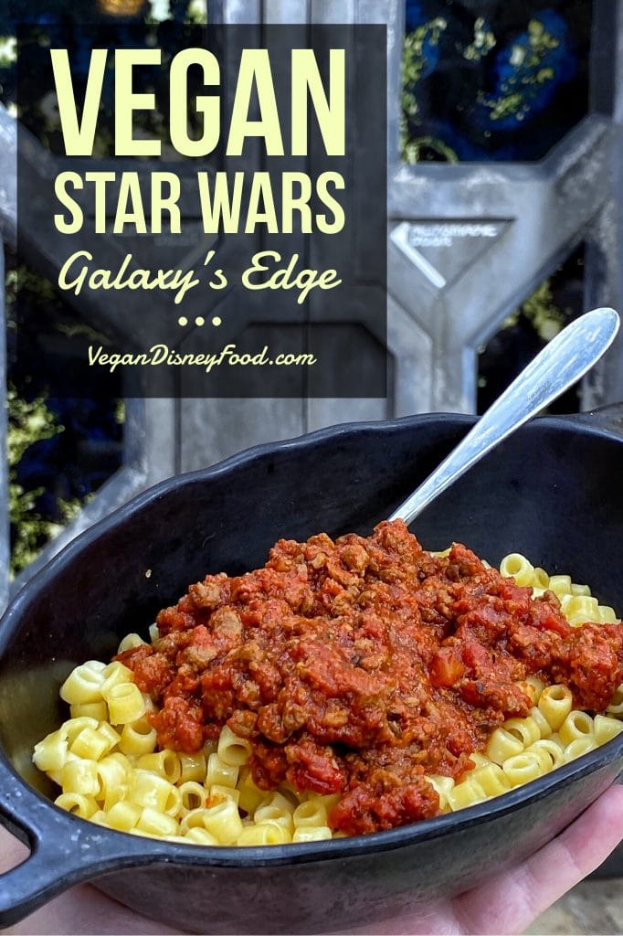 New Addition to the Star Wars Docking Bay 7 Food and Cargo Vegan Menu in Star Wars Galaxy's Edge at Walt Disney World