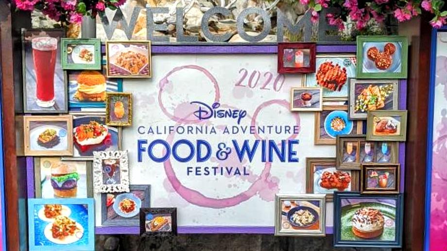 2020 Disney California Adventure Food and Wine Festival at the Disneyland Resort