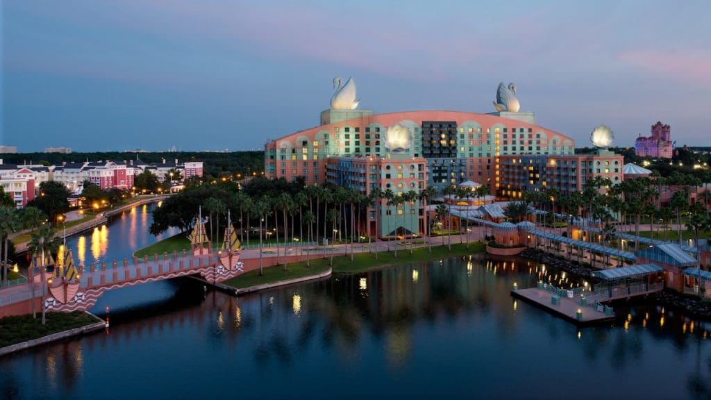 Disney's Swan Resort in Walt Disney World