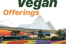 NEW Vegan Options CONFIRMED for 2020 Epcot Flower and Garden Festival