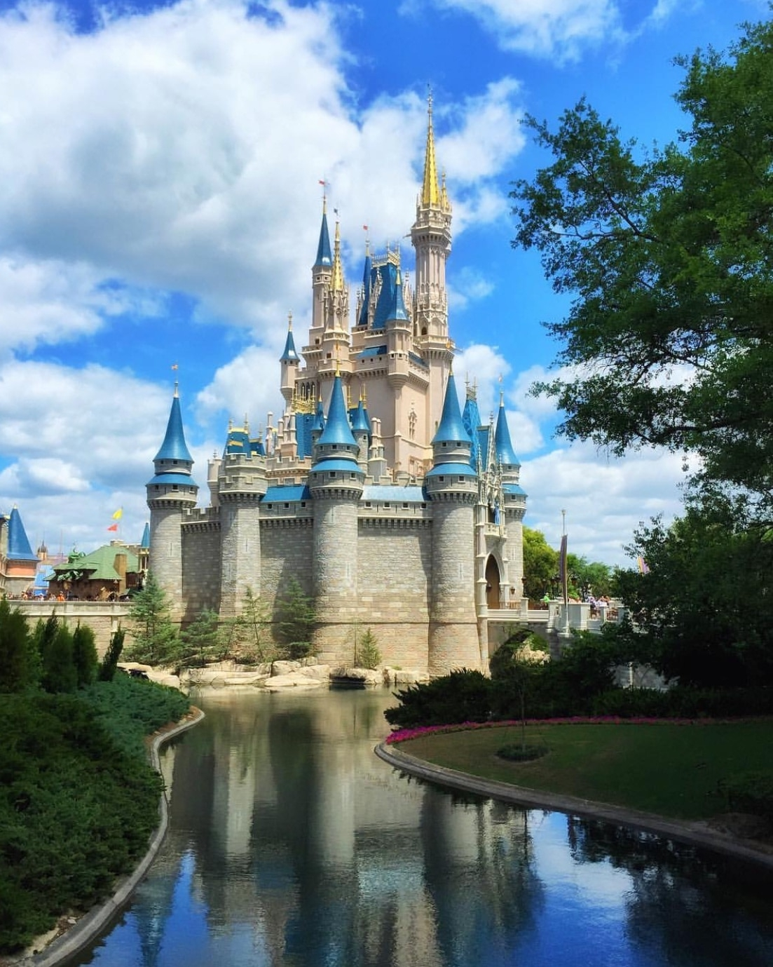 Cinderella Castle in the Magic Kingdom at Walt Disney World