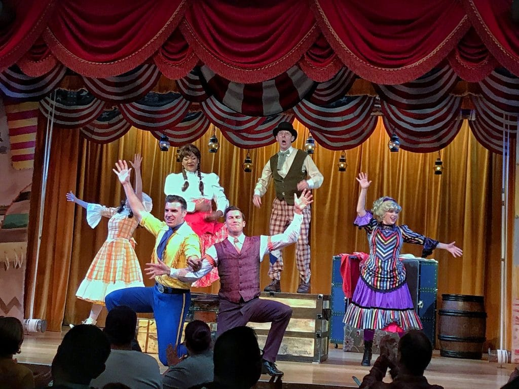 Vegan Options at the Hoop Dee Doo Musical Review at Disney's Fort Wilderness Resort and Campground in Walt Disney World