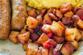 The Plaza Restaurant Vegan Breakfast in the Magic Kingdom at Walt Disney World