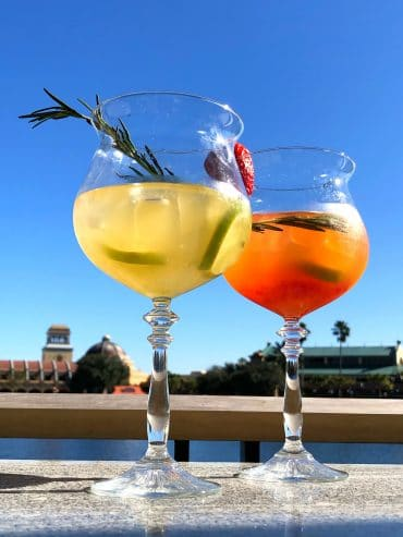 Sangria University Vegan Review at Coronado Springs Resort in Walt Disney World