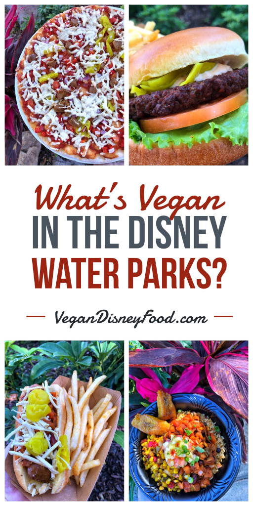 What's Vegan in the Disney Water Parks?