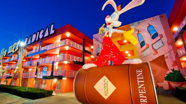 Pop Century Resort in Walt Disney World