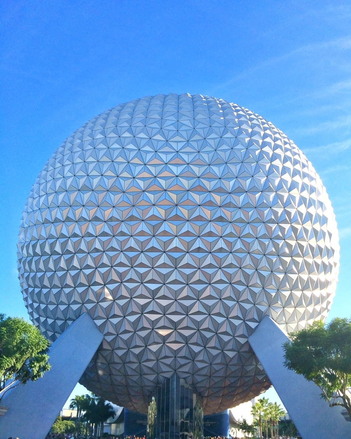 Spaceship Earth in Epcot at Walt Disney World