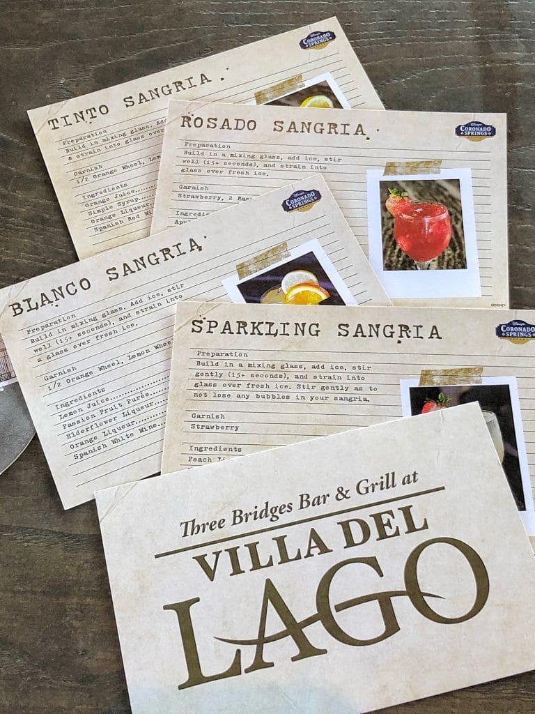 Sangria University Vegan Review at Coronado Springs Resort in Walt Disney World