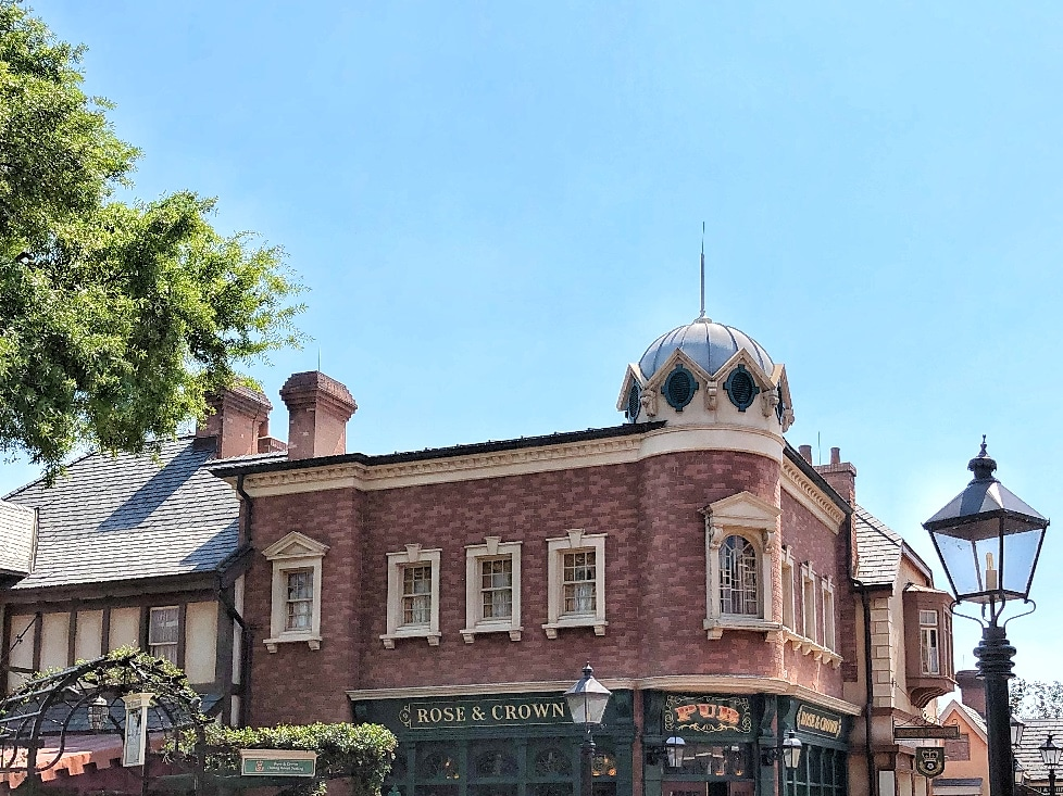 Epcot Rose and Crown Tea Experience Vegan Review in Walt Disney World