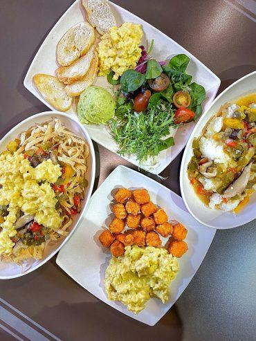 Vegan Breakfast at the ABC Commissary in Disney's Hollywood Studios