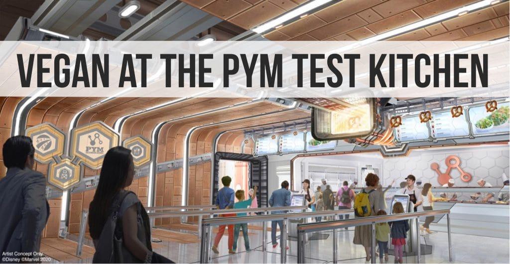 NEW Pym Test Kitchen Vegan Meatballs at Avengers Campus in Disney California Adventure at the Disneyland Resort