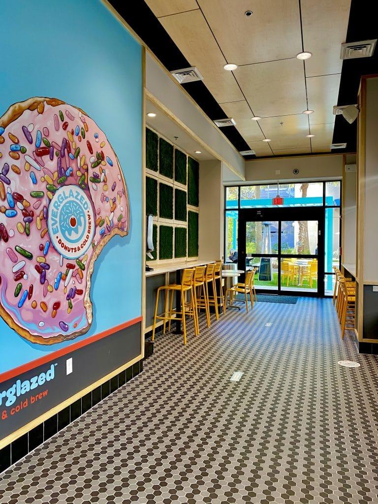 Everglazed Donuts interior