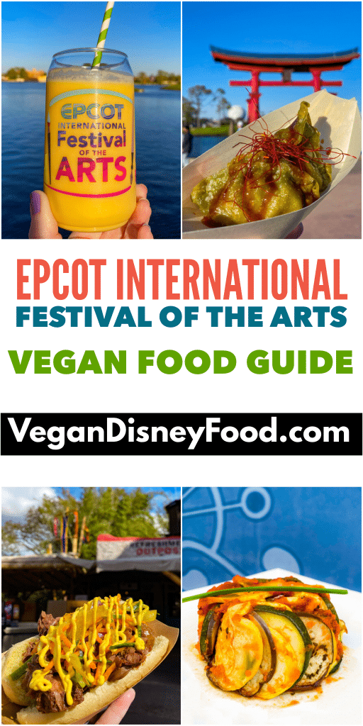 Epcot Festival of the Arts vegan guide