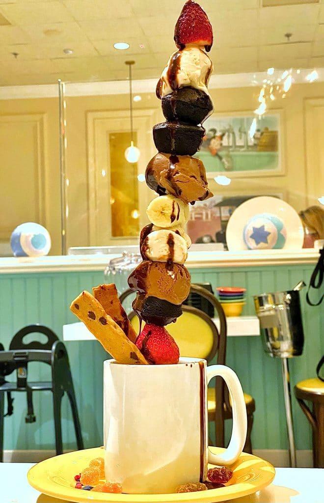 Chef TJ dessert tower