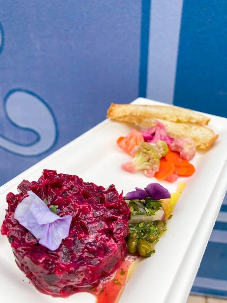 Festival of the Arts beet tartare