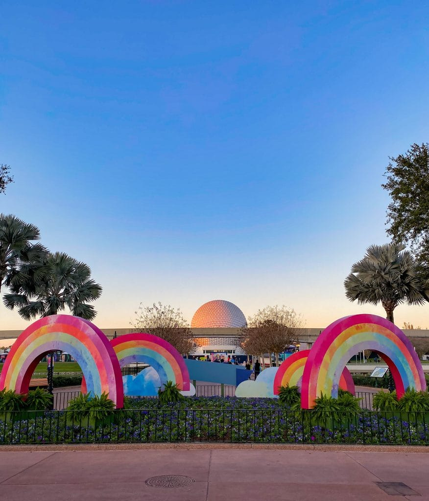 Epcot Festival of the Arts signs
