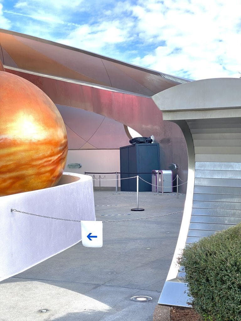 Space 220 restaurant sign