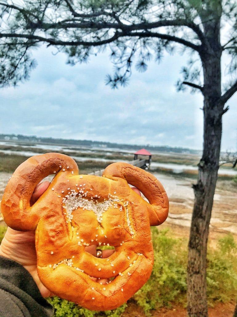 Disney's Hilton Head Island Mickey Pretzel