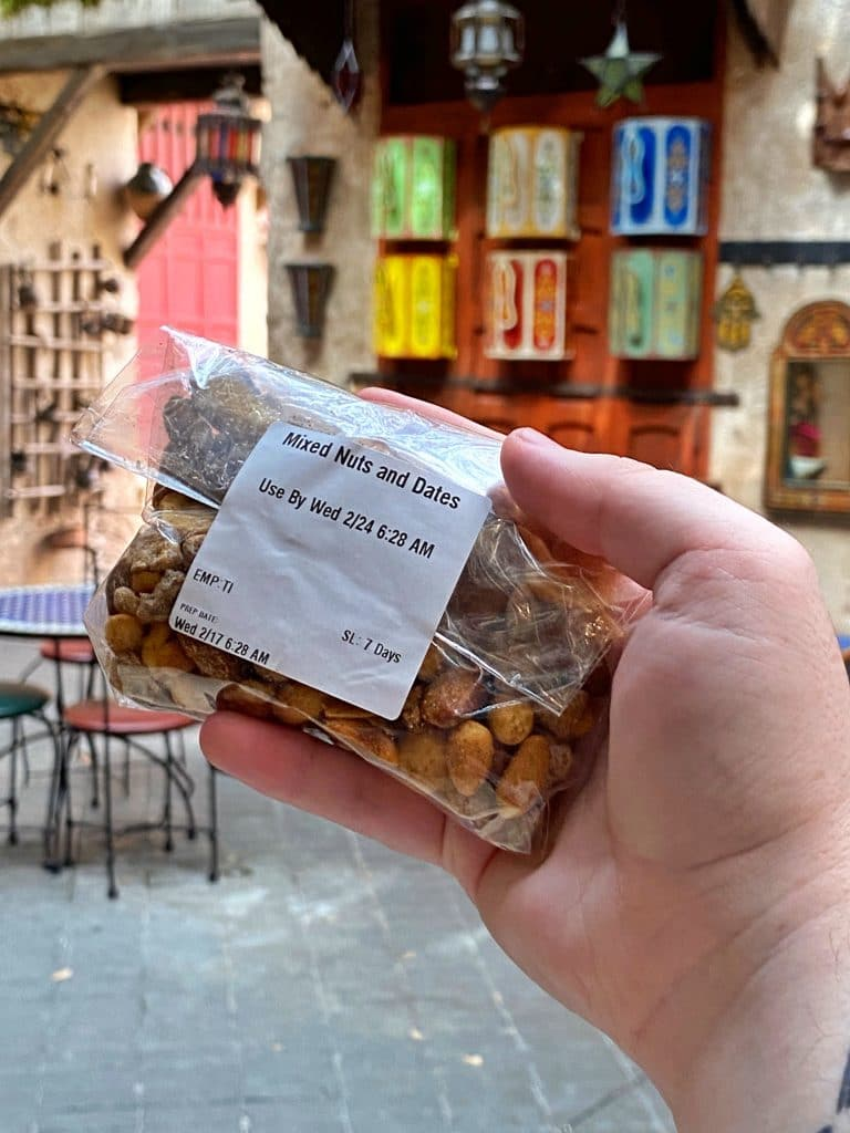 Date Nut Mix Morocco EPCOT