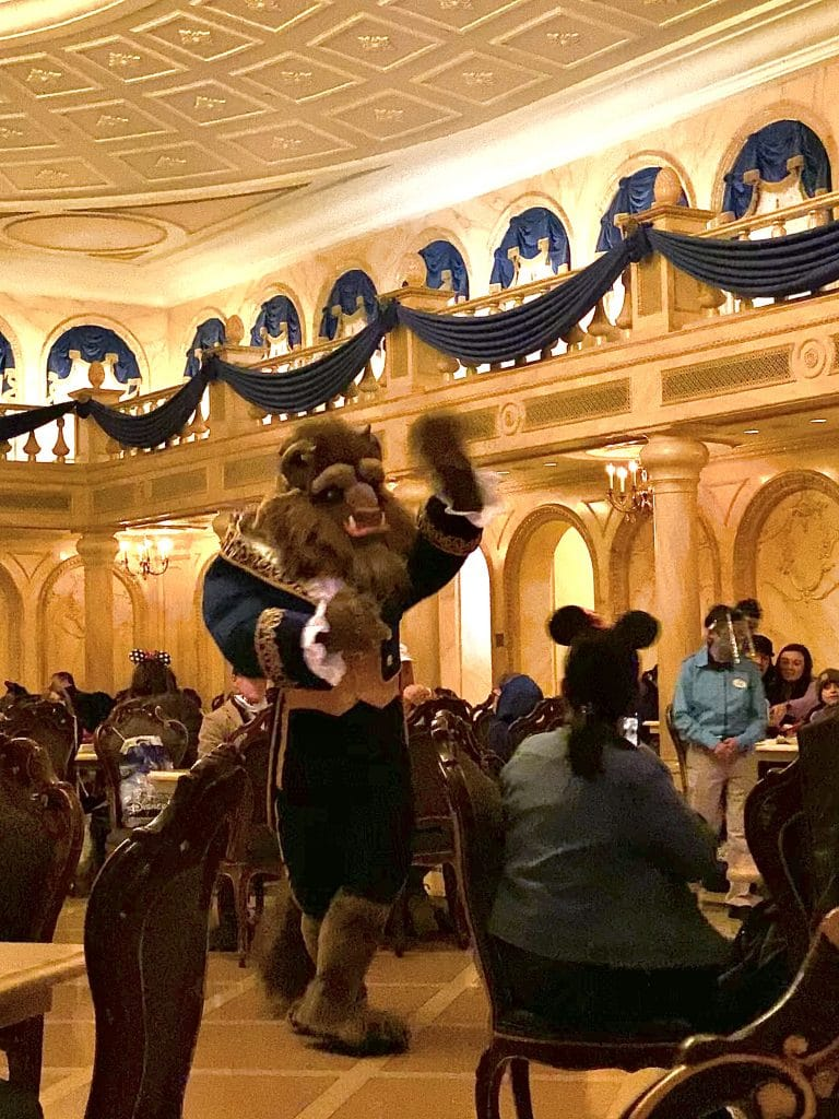 Beast at Be Our Guest