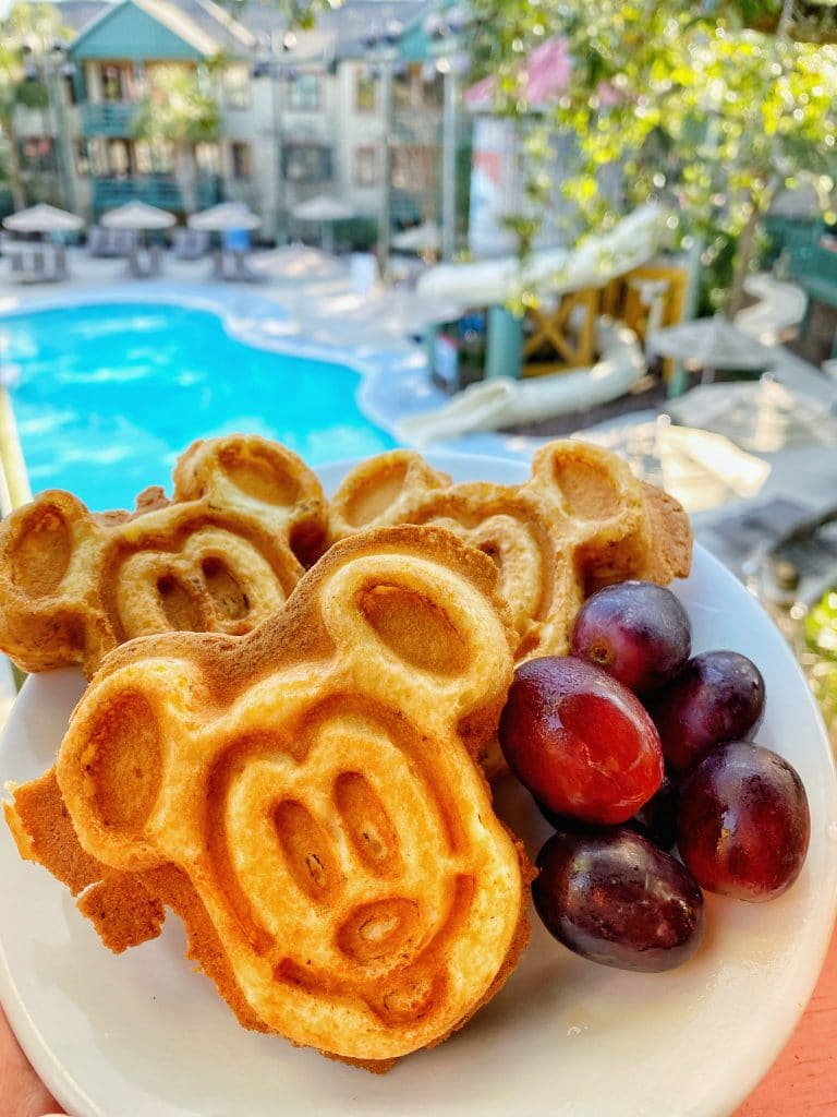 Disney's Hilton Head Island Mickey Waffle