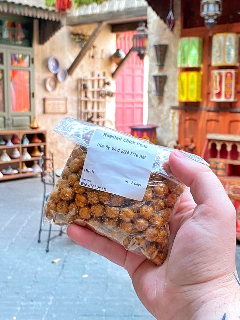 Roasted Chickpeas Morocco EPCOT