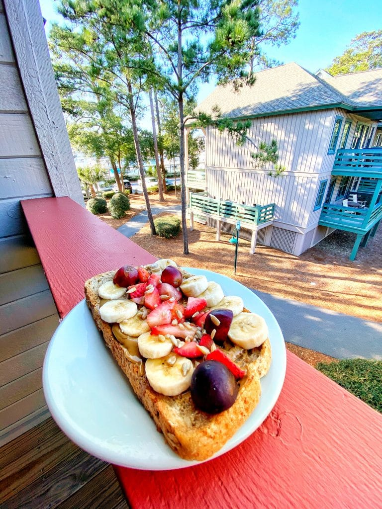 Disney's Hilton Head Island Sun Butter Toast