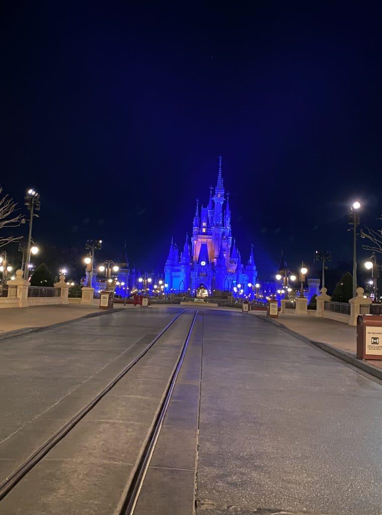 Magic Kingdom empty