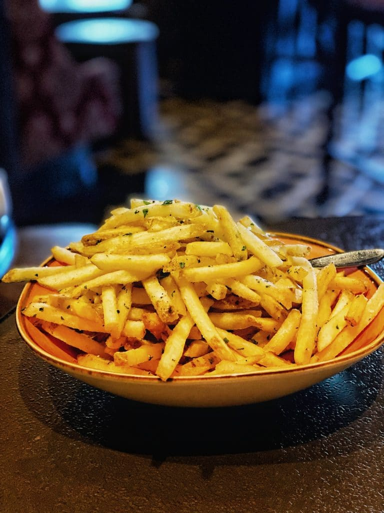 Vegan Truffle Fries AbracadaBar