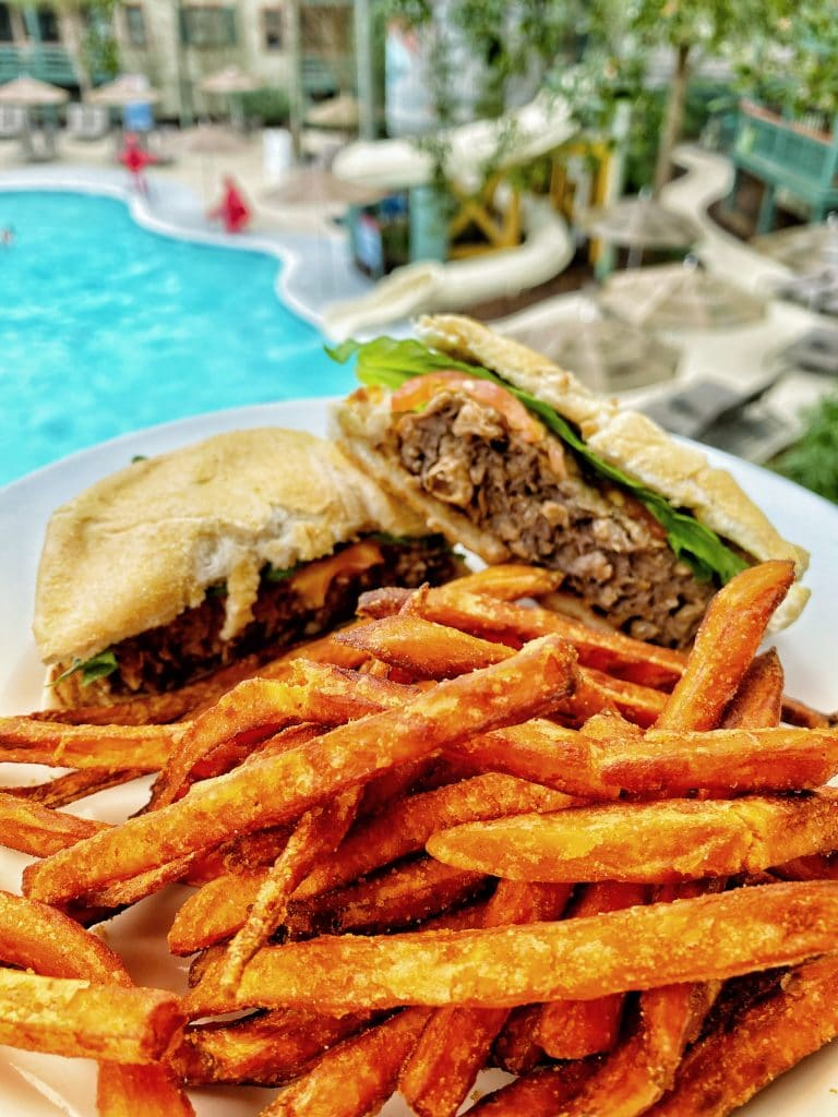 Disney's Hilton Head Island Beyond Burger