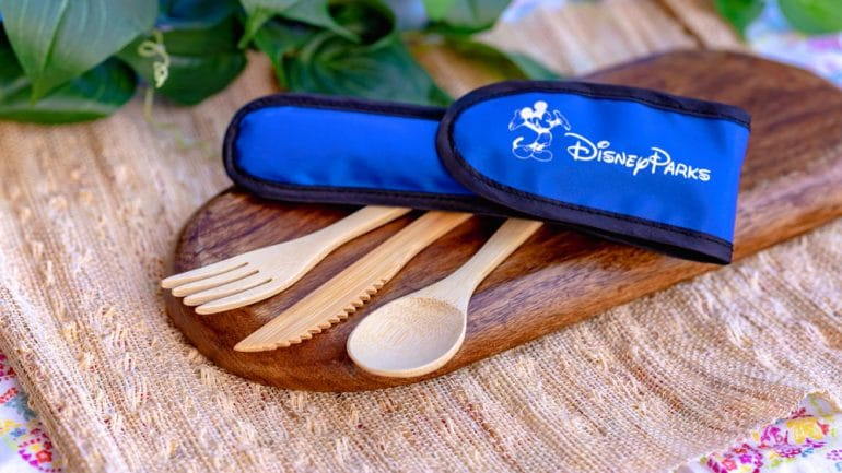 bamboo reusable utensils Disney parks