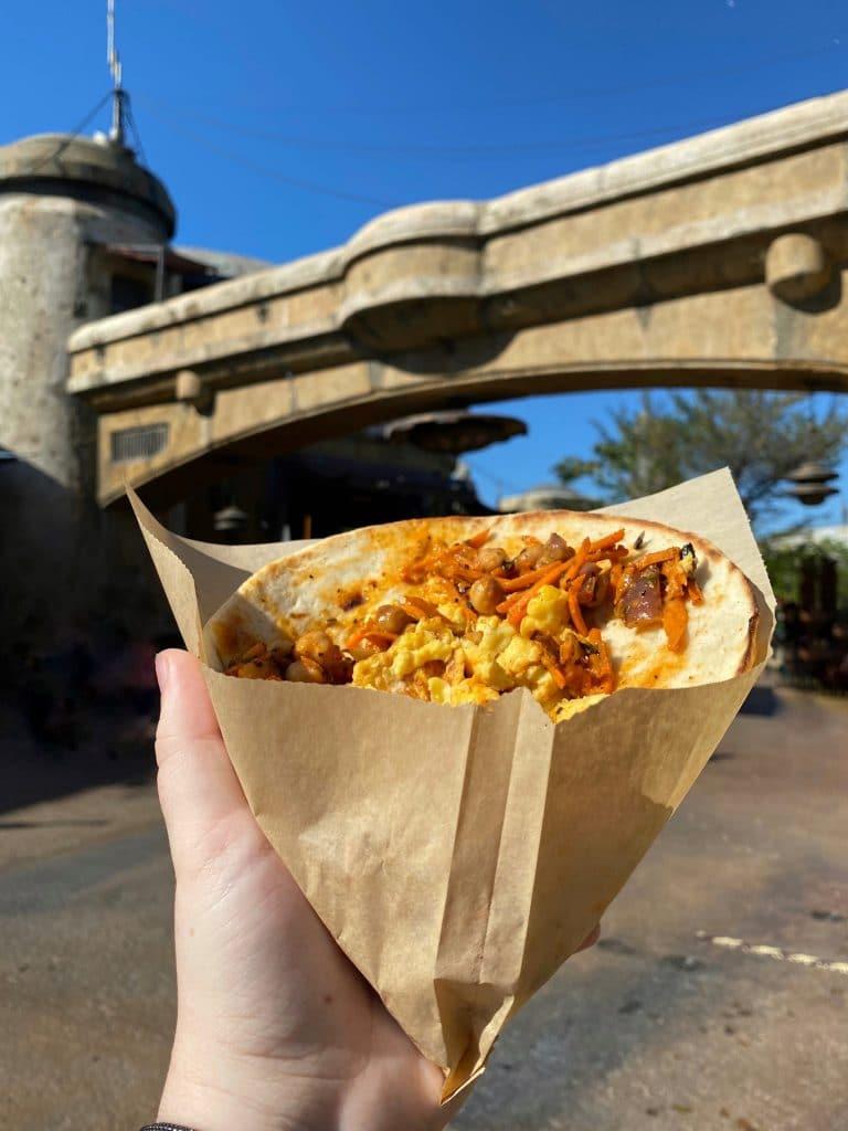 Triple Suns Breakfast Wrap Ronto Roasters