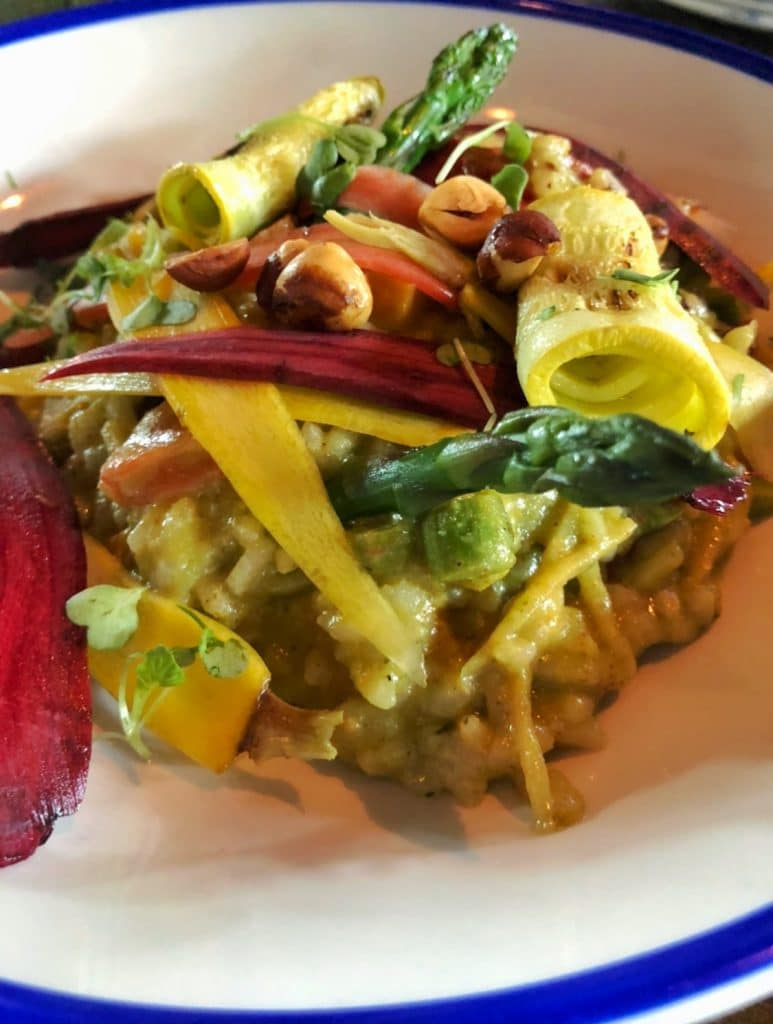 Raglan Road vegan risotto