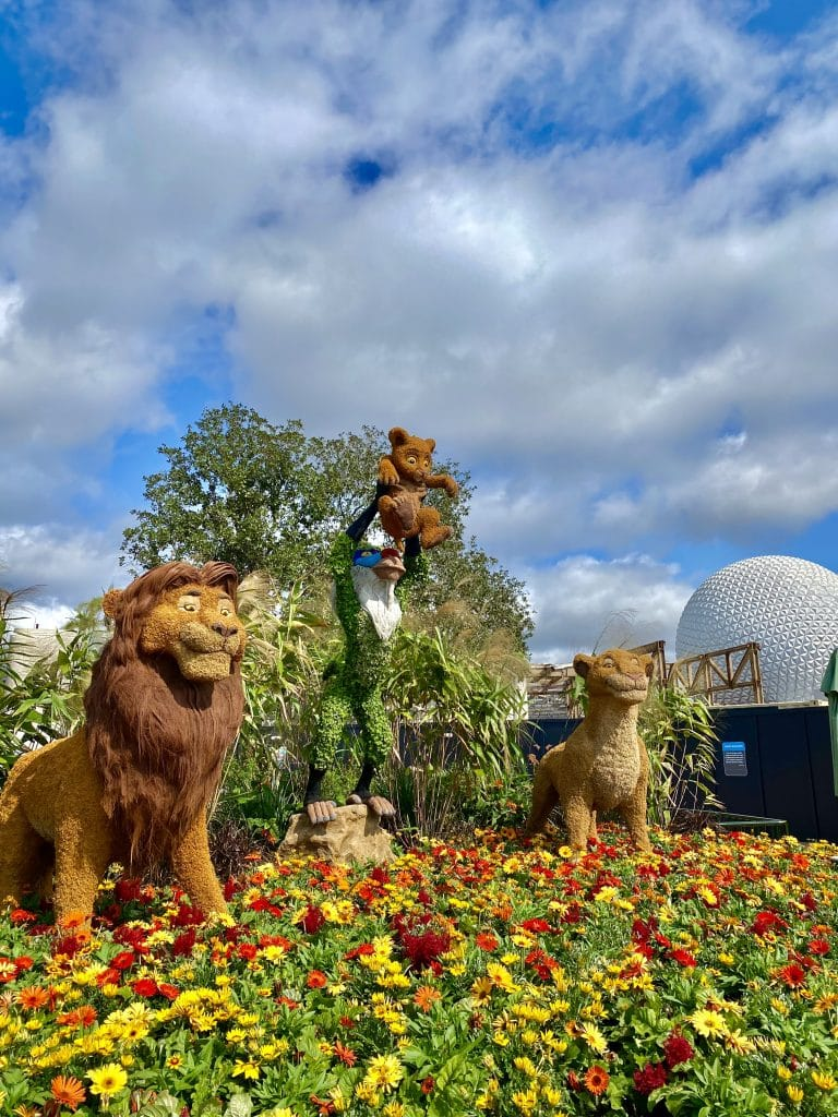 Lion King Topiary
