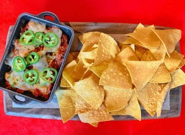 Maple-Chipotle Barbecue-braised Jackfruit Dip Whispering Canyon