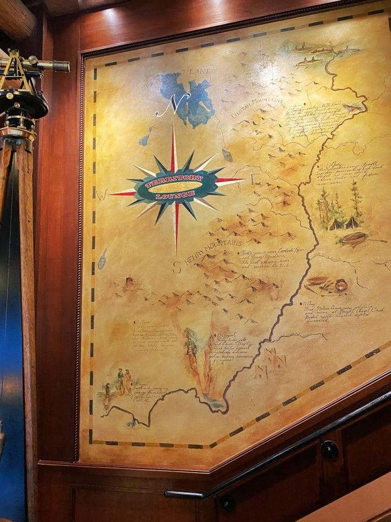 Territory Lounge Wilderness Lodge