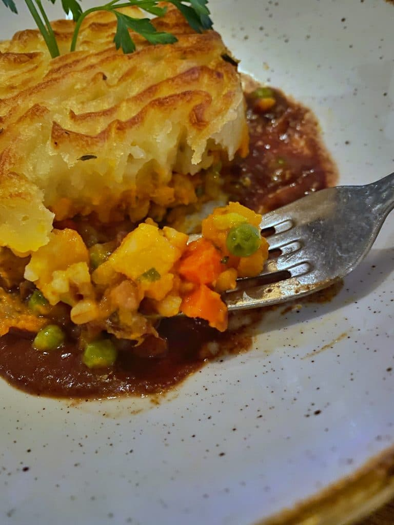 Vegan Shepherd's Pie Raglan Road