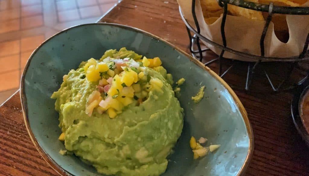 La Hacienda de San Angel vegan guacamole