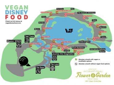 2021 EPCOT Flower and Garden map final