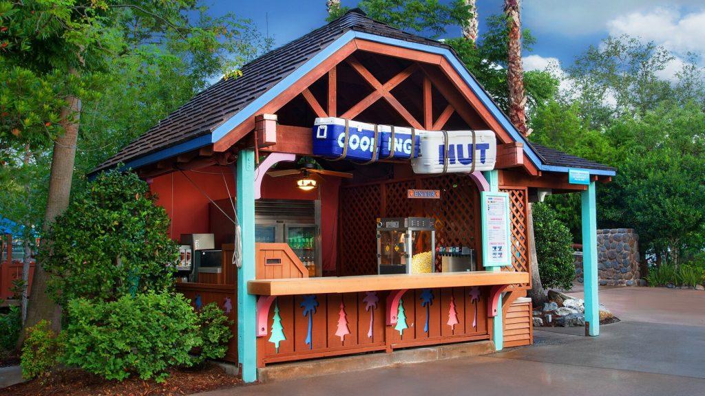 Blizzard Beach Cooling Hut
