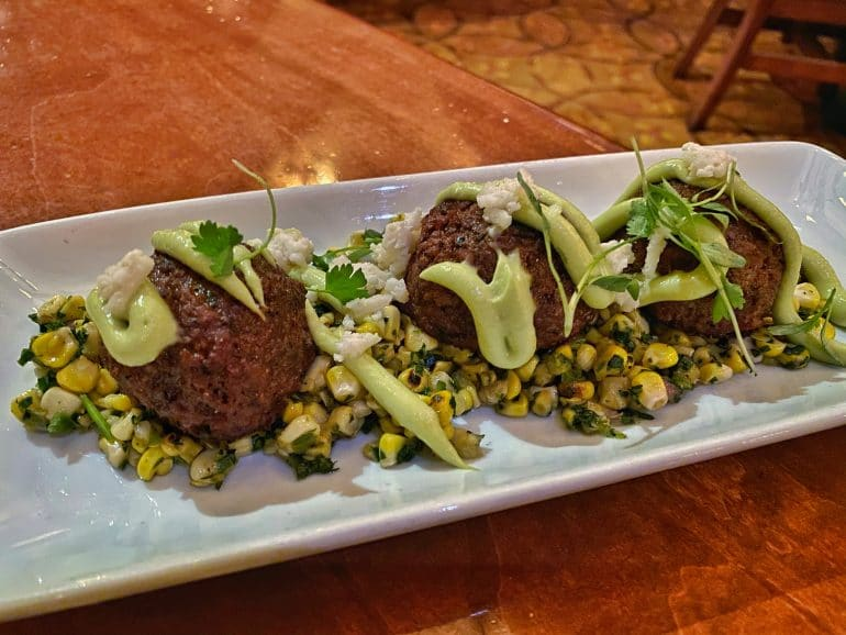 Vegan Chorizo Meatballs Le Cellier