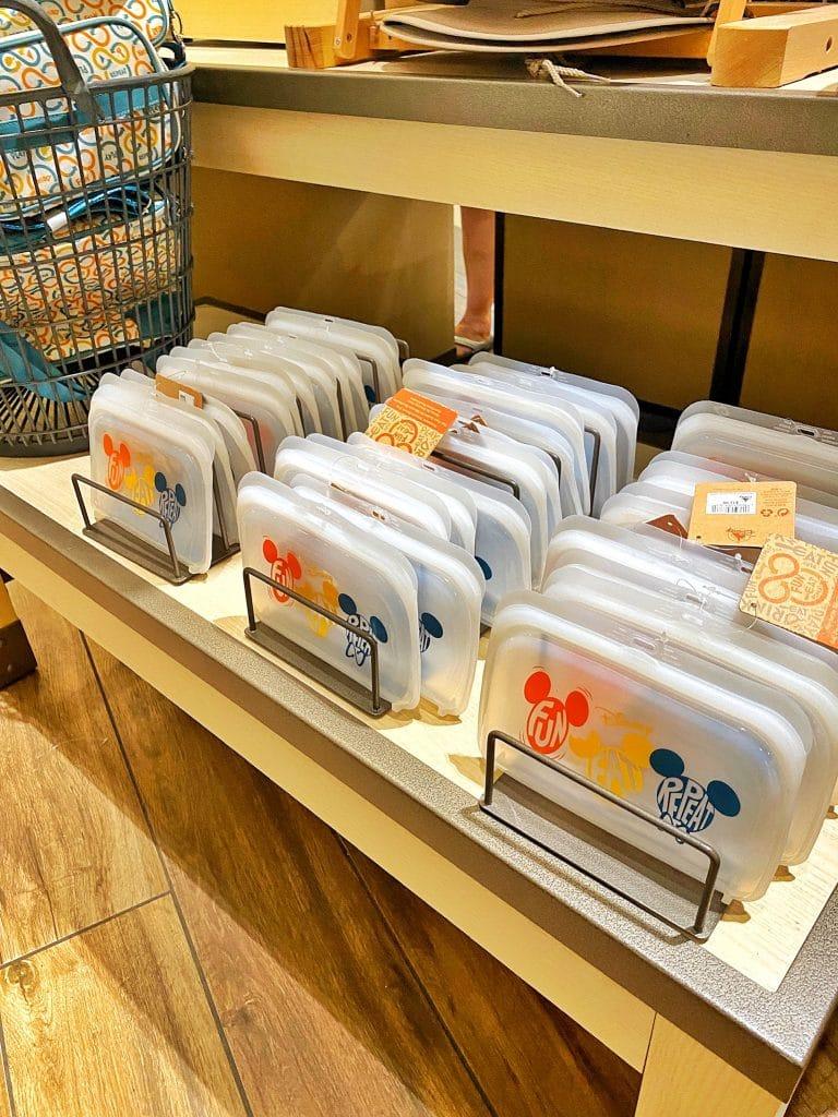 Disney Reusable silicone snack bag