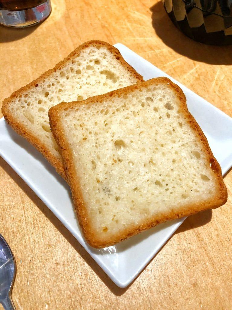 Cape May Cafe vegan toast