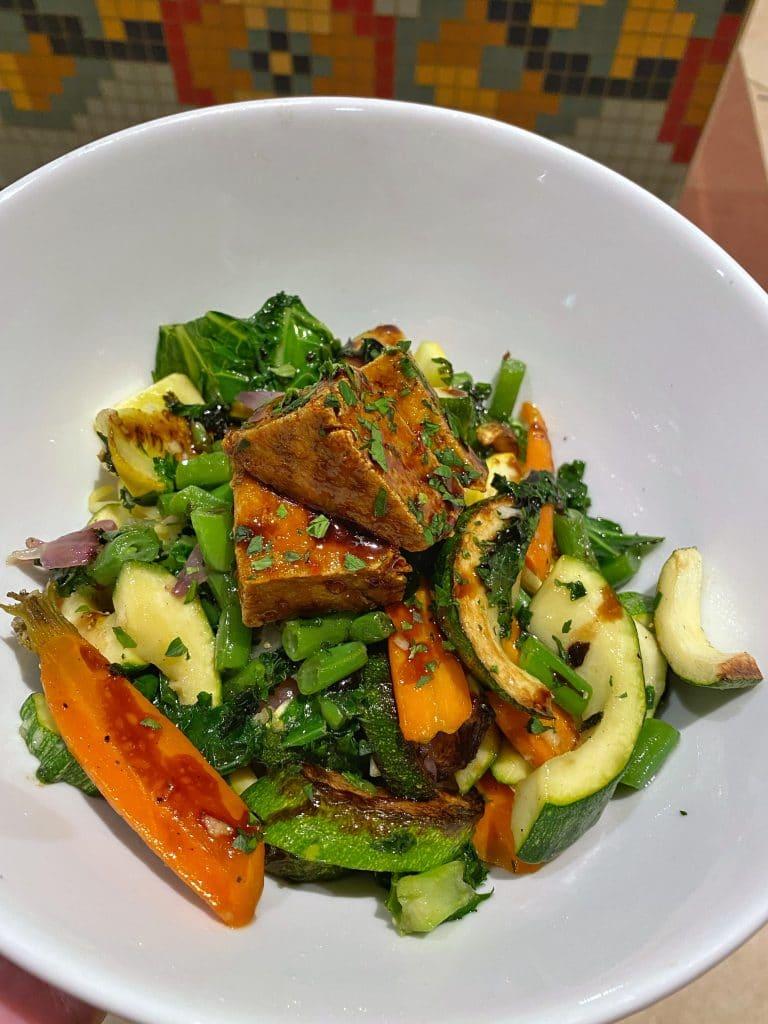 vegan Tofu Platter Cape May Cafe