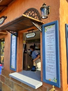Gelateria Toscana Epcot menu