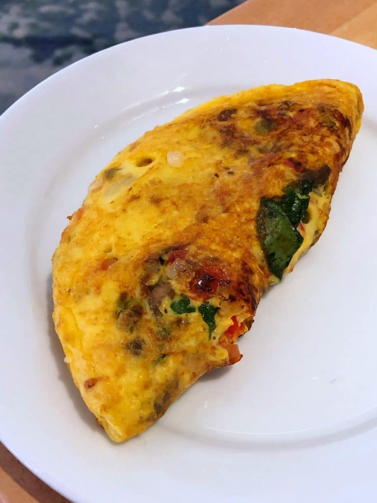 Cape May Cafe vegan omelet